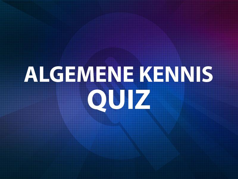 Algemene Kennis Quiz - bedrijfsuitje