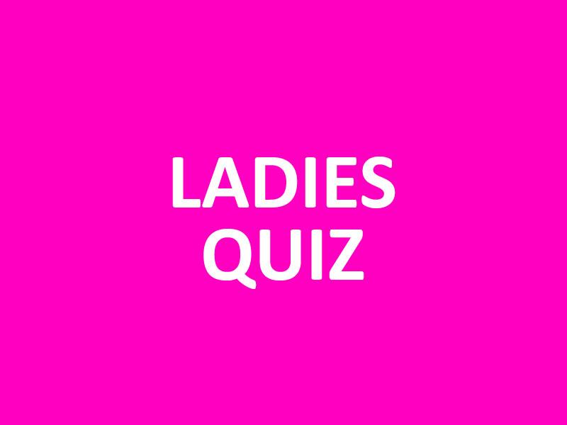 Ladies Quiz - Vrijgezellenfeestje