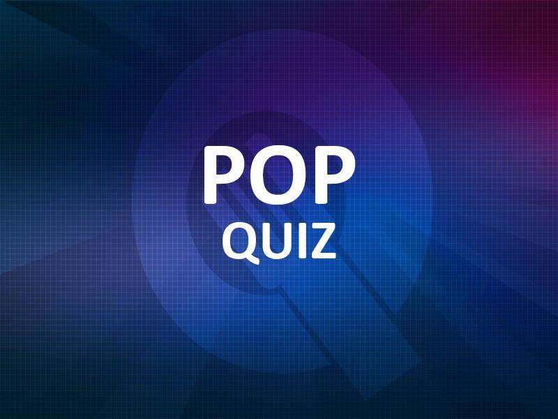 Pop Quiz - Bedrijfsuitje